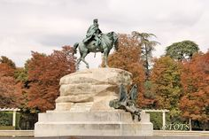 Monument to General Arsenio Martínez-Campos, Retiro Park, Madrid