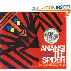 Anansi the Spider   Great for Africa study: great jump off to do amazing art projects in this same style!