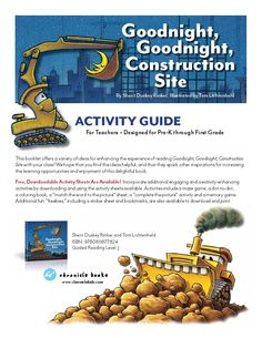 Teacher's Guide for Goodnight, Goodnight, Construction Site