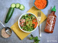 Build Spicy Tuna Guacamole Bowls