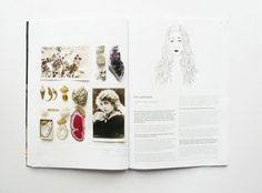 oh comely magazine - layout