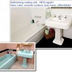 bathtub and sink refinish by Miracle Method