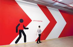 Australian HQ Signage 3M The new 8,000sqm Australian HQ for global innovation giant 3M required an extensive signage and wayfinding package that would compliment the extensive branded environment also designed by THERE.