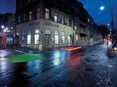 The corner in Sarajevo where Archduke Franz Ferdinand was shot.