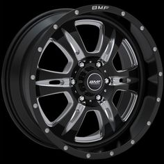 Rehab Wheels by BMF | Chrome & Black Truck Wheels (20x9)