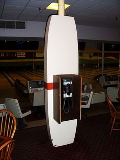 Pay Phone at Candlepin Bowling Alley by The Upstairs Room, via Flickr