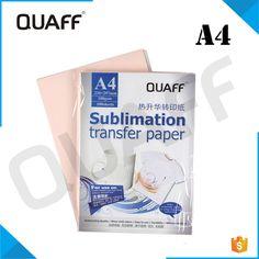 d7e9c55f2 QUAFF brand Heat A4 Transfer Paper sublimation paper for heat transfer cups  hats clothes Transfer Paper