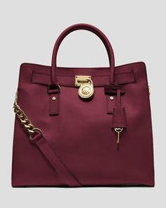 Hamilton Large North South- Love the rich color of this bag!