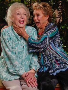 Betty White and Cloris Leachman