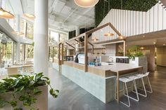 Kitty Burns 'Best Cafe' – Restaurant and Bar Design Awards Winner 2016 Cool Cafe, Kiosk Design, Cafe Design, Retail Design, Design Design, Design Ideas, Design Inspiration, Cafe Restaurant, Restaurant Design