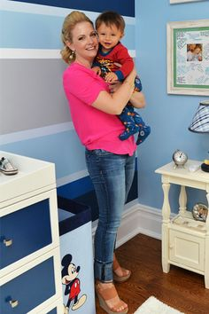 Look at that smile! Proud mommy Melissa Joan Hart showed off her adorable son Tucker and his newly decorated room while hosting My Magic Roo...