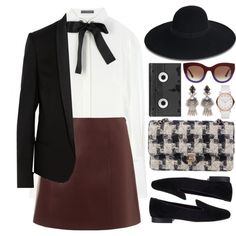 Running out of time by astoriachung on Polyvore featuring мода, Alexander McQueen, STELLA McCARTNEY, T By Alexander Wang, VANELi, Chanel, DANNIJO, Marc Jacobs, Maison Michel and Thierry Lasry