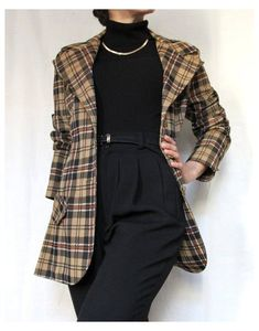 Mode Outfits, Retro Outfits, Cute Casual Outfits, Vintage Outfits, Fashion Outfits, Fashion Clothes, 80s Fashion, Fashion Pants, Fashion Trends