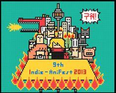 Pixel art (Design a poster) on Behance