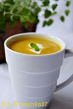 Pożywna zupa z dyni i soczewicy