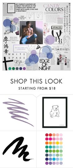 """City lights"" by hallow33n ❤ liked on Polyvore featuring NARS Cosmetics and Yves Saint Laurent"