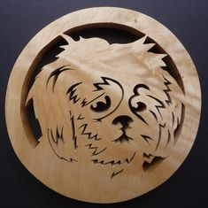 This beautiful Lhasa Apso trivet is the perfect gift for any dog lover!-) ) Hand cut with a fret saw from Scottish sourced hardwood,treated with Danish oil to withstand heat. (approx x Fret Saw, Japanese Spitz, Tudor Rose, Lhasa Apso, Scroll Saw Patterns, Dog Pattern, Stained Glass Patterns, Metal Art, Wood Projects
