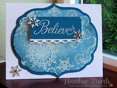 Creative Blessings: Sparkly Snowflake Soiree