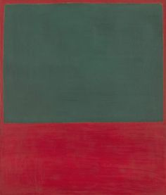 Daily Rothko : Untitled 1956, acrylic on canvas