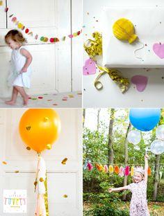 a little lovely company, feest, decoratie, xl balonnen, slingers, kinderfeest