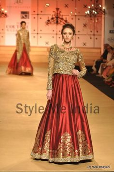 Ashima-Leena at Delhi Couture week 2012