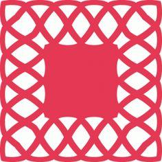 Silhouette Design Store - View Design #67117: lace square doily