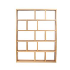 Tema Berlin 5 Levels 150 Wood Bookcase (Multiple Colors)