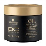 Máscara Oil Miracle Gold Shimmer Treatment – BC Bonacure – Schwarzkopf – Todos os Tipos de Cabelos 150 ml