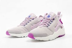 bc1805b18757 Take a look at the women s exlcusive Nike Air Huarache Ultra Bleached Lilac.  Available now