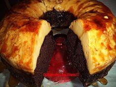 Ένα καταπληκτικό γλυκό. Υπέροχο ζουμερό κέικ κάτω και φανταστική βελούδινηκρέμ-καραμελέ με 3 υλικά επάνω. Σας παρακαλώ φτιάξτε το είναι πανεύκολο και πεντανόστιμο. Δεν περιγράφω άλλο…ΥΛΙΚΑ ΓΙΑ ΤΟ ΚΕΙΚ 1 πακέτο έτοιμο μίγμα για σοκολατένιο κέικ (υπάρχει σε όλα τα μεγάλα σούπερ μάρκετ) 3 αυγά 1/2 κούπα σπορέλαιο 1 κούπα νερό 1/2 κούπα έτοιμο σιρόπι καραμέλα … Greek Sweets, Greek Desserts, Greek Recipes, Brunch Recipes, Cake Recipes, Dessert Recipes, Cooking Cake, Cooking Recipes, Caramel Recipes