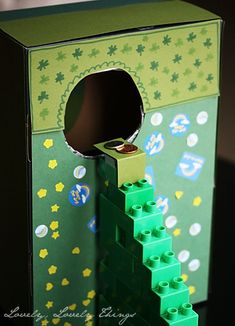 Leprechaun Trap...so cute!! Think I'm gonna do this...and leave a trail of 4 leaf clovers that lead to a pot of gold coins!!