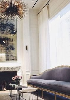 Love the sofa..... South Shore Decorating Blog: Tuesday Eye Candy