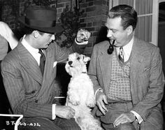 Cary Grant and Nigel Bruce