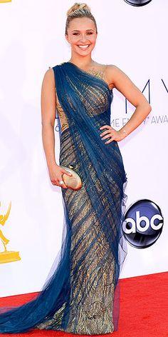 Hayden Panettiere in Marchesa (Emmys 2012)