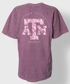 Texas A&M t-shirt. #AggieStyle #AggieGifts