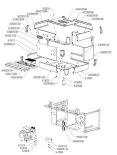 Tube MEROL Coffee Machine pipe Coffee Maker Spare Parts
