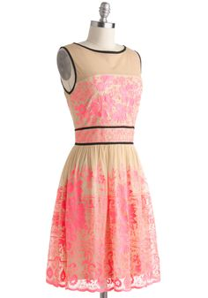 I'm not crazy about the neckline here, but the skirt is to die for...    Vivid Dreamer Dress | Mod Retro Vintage Dresses | ModCloth.com