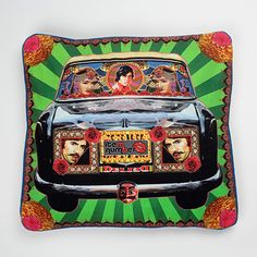 Cushion Cover (Taxi with Amitabh Bachchan) @ Item Number | StoryLTD.com | #Bollywood #Beautiful #Interesting