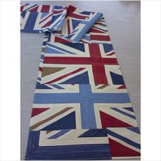 """Table Runner approx 12"""" x 68"""" Union Jack Prestigious Fabric Listing in the Other,Dining Room,Home & Garden Category on eBid United Kingdom"""