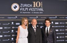Directors of the Zurich Film Festival with John Malkovitch 2014