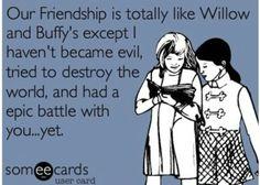Yet... Willow vs. Buffy