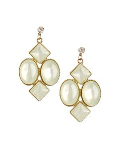 Limited Edition Pearlised Chandelier Earrings
