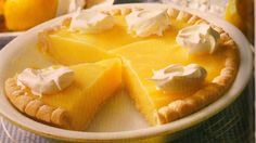 A recipe for The Best Lemon Pie
