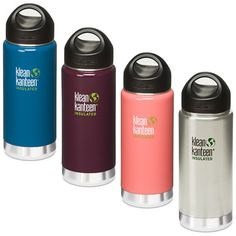 Klean Kanteen Insulated Water Bottle ($23 to $28, depending on size). The double-walled, vacuum insulation keeps ice water cold up to 24 hours and the best part is there's no messy condensation on the outside of the bottle. It's BPA-free, and the wide mouth makes it easy to clean and easy to drink from.