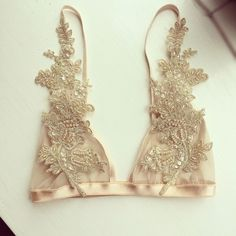 Lingerie of the Week: With Love Lilly Champagne Bralette | The Lingerie Addict | Lingerie For Who You Are