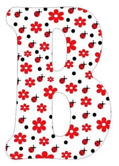 Painting Wooden Letters, Ladybug Party, Gifts For My Boyfriend, Letter Templates, Appliques, First Birthdays, Artworks, Alphabet, Calligraphy