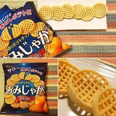 Amijyaga Umashio  Experimenta una nueva sensación con estas patatas chips con forma de rejilla.  Emplean sal elaborada en Churaumi región de Okinawa. Gracias a ella se potencia el  sabor de cerdo pollo y setas de las propias patatas.  En la recién diseñada caja de Octubre! No te la pierdas!  www.boxfromjapan.com  #boxfromjapan #BFJ #bfjoctubre #okinawa #patatafrita #papasfritas #snack #bfjsumo