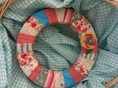 Patchwork Wreath