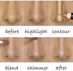 How To Make Your Nose Slimmer!! #Beauty #Trusper #Tip