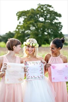 Bridesmaid Gift Ideas Customised Vintage Hankies Photo By Anneli Marinovich Gifts For Bridesmaids